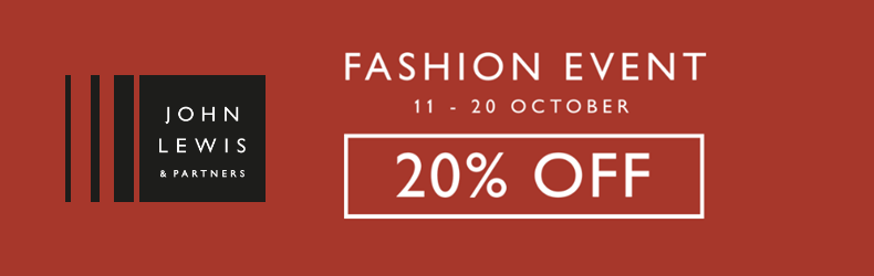 John Lewis 20% Off Fashion Slider