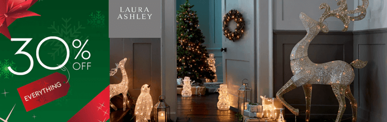 30 off everything at Laura Ashley slider