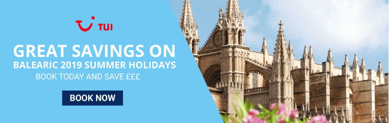 TUI Save £££ On Balearics