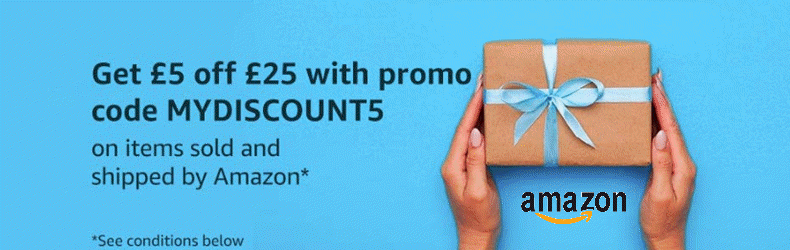 Amazon £5 Off When You Spend £25