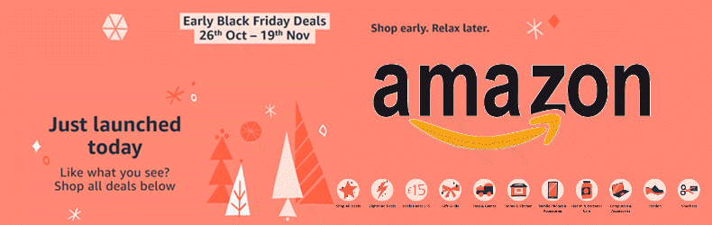 Amazon Black Friday Slider