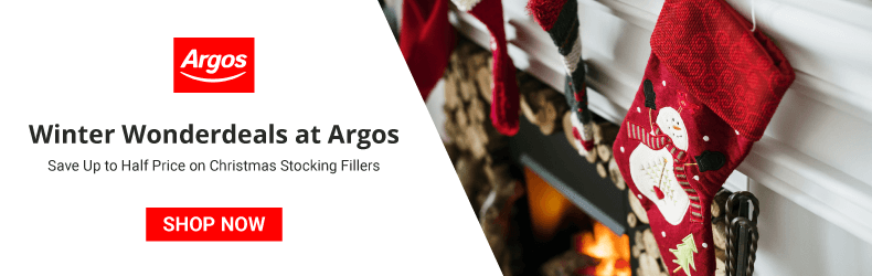 Argos Half Price Stocking Fillers Slider