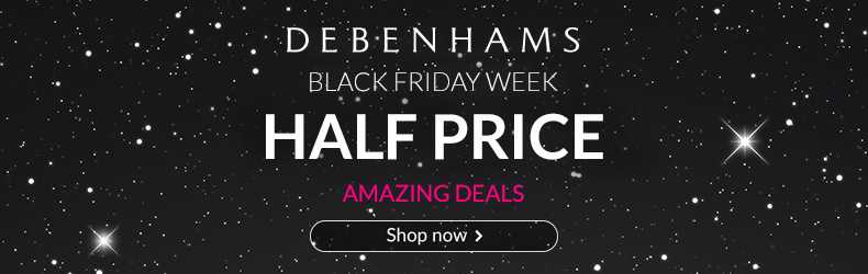 Debenhams Black Friday Week Slider