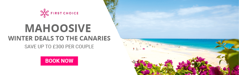 £300 saving on canaries with first choice