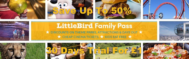 Little Bird 50% Off Family Pass
