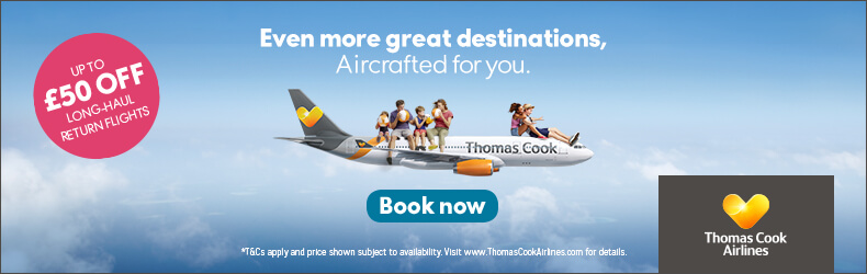 Thomas Cook Airlines Flights Offer