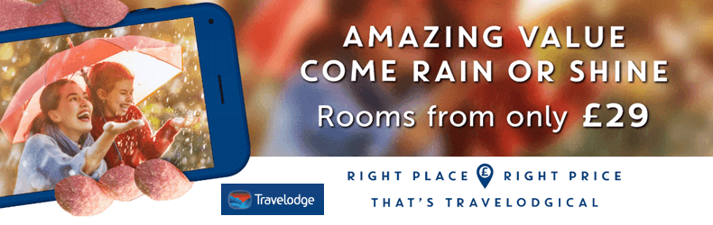 Travelodge £29 rooms Slider
